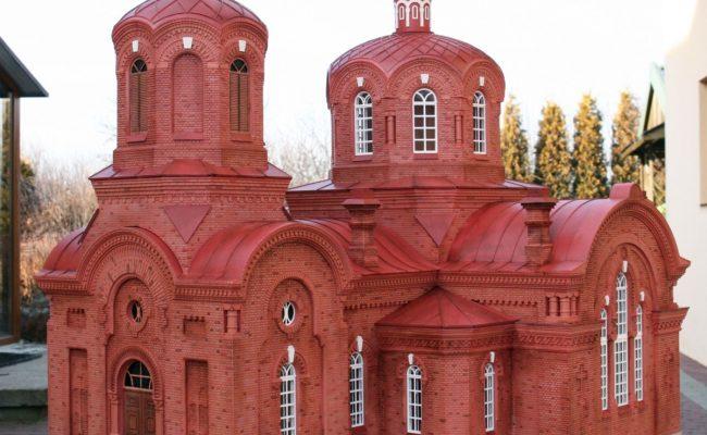 makieta Cerkiew w Bialowiezy (2)