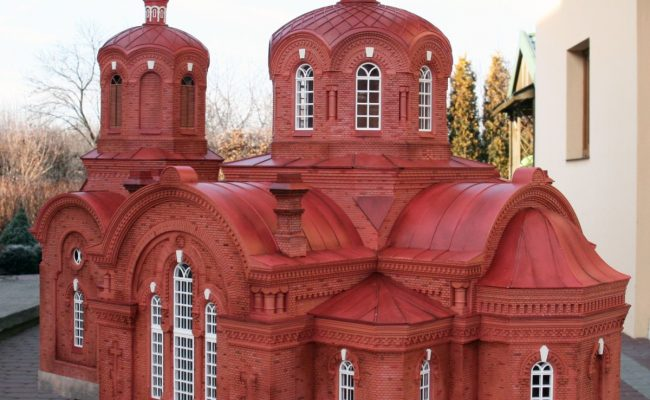 makieta Cerkiew w Bialowiezy (4)