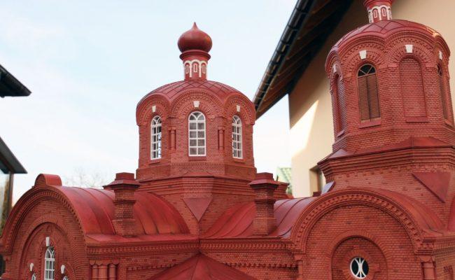 makieta Cerkwi w Białowieży detal