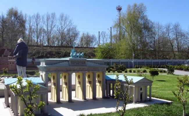 Makieta Bramy Brandenburskiej skala 1:25