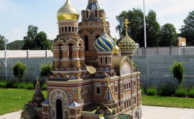 Cerkiew w Sankt Petersburgu w miniaturze