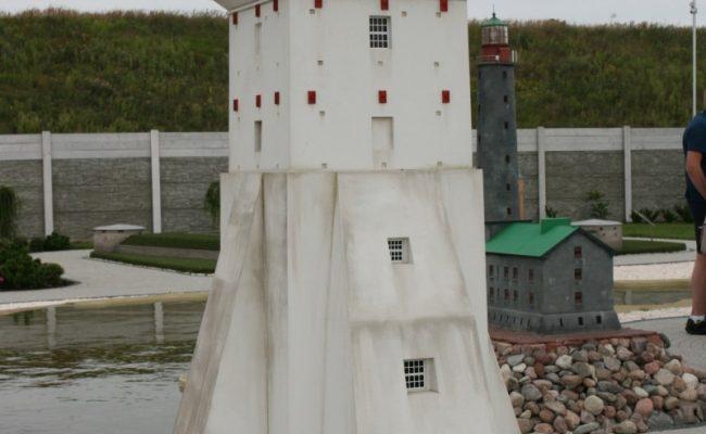 Miniatura latarni morskiej Kopu skala 1:25