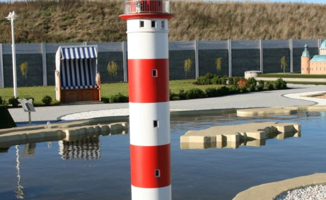 makieta latarni morskiej Nida