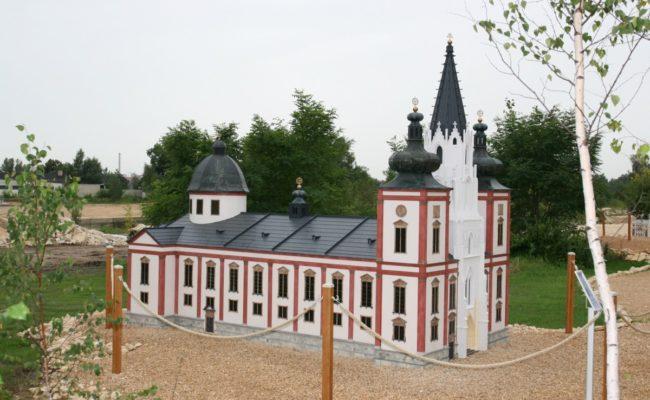miniatura Bazyliki z Mariazell