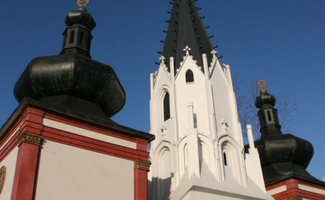miniatura Bazyliki z Mariazell detal