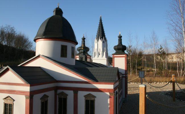 miniatura Bazyliki w Mariazell