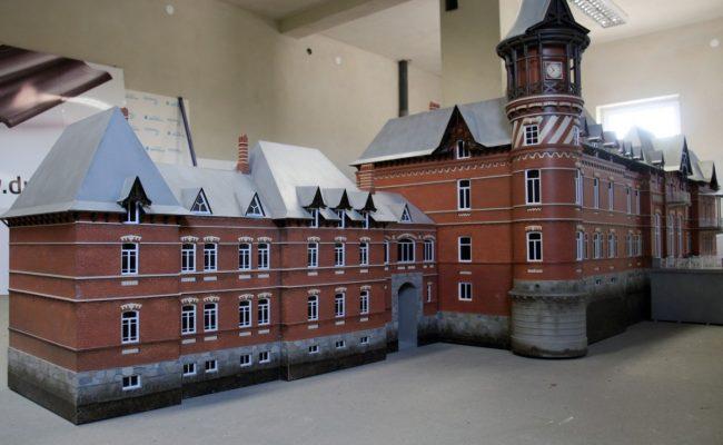 makieta pałacu Carskiego w Białowieży rekonstrukcja