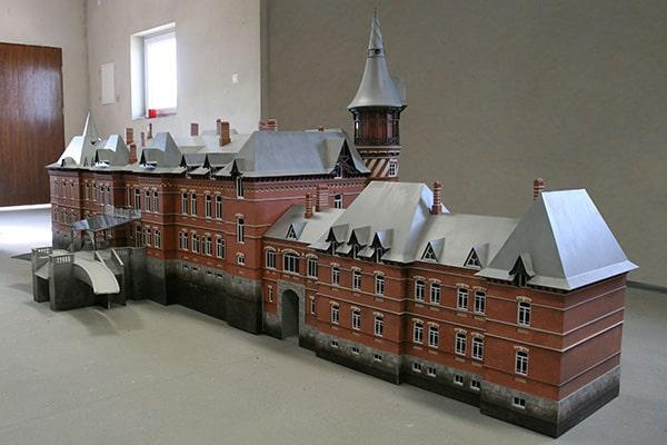 Pałac carski w Białowieży rekonstrukcja