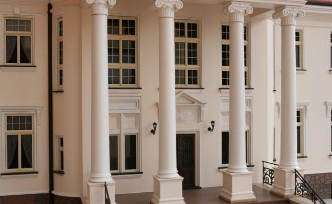 wejście główne Pałacu w Tłokinii makieta