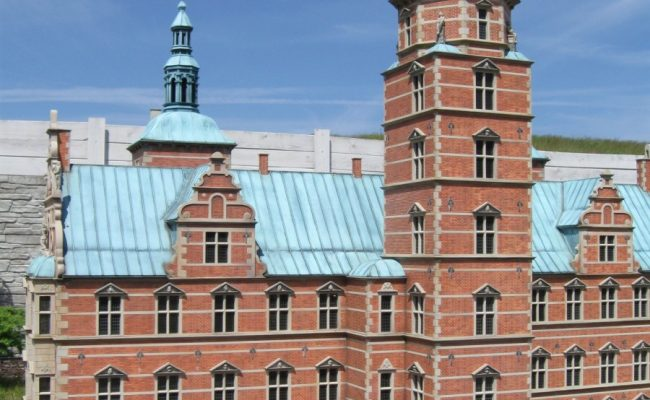 Miniatura zamku Rosenborg