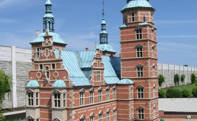 Zamek Rosenborg w miniaturze