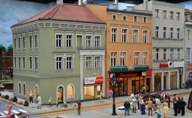 Rynek w Gliwicach Makieta