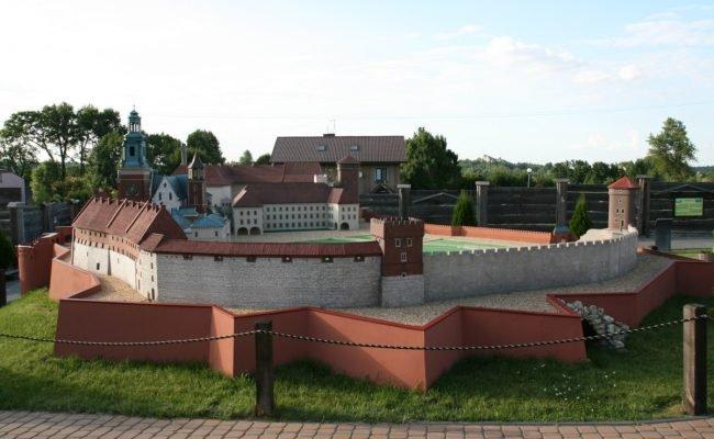 Zamek Królewski na Wawelu makieta architektoniczna eksperyment