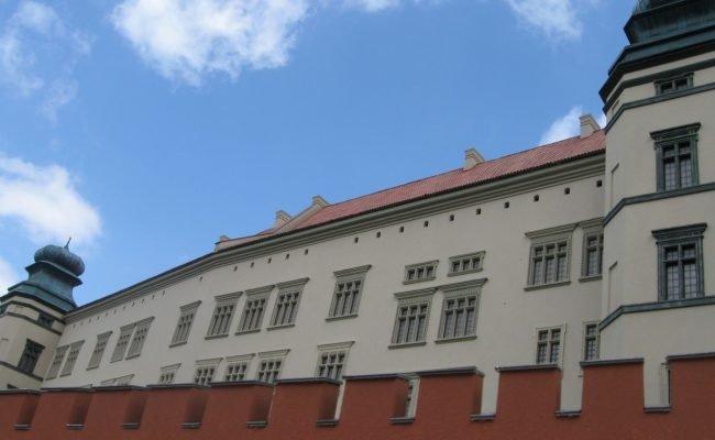 Zamek Królewski na Wawelu makieta architektoniczna całoroczna