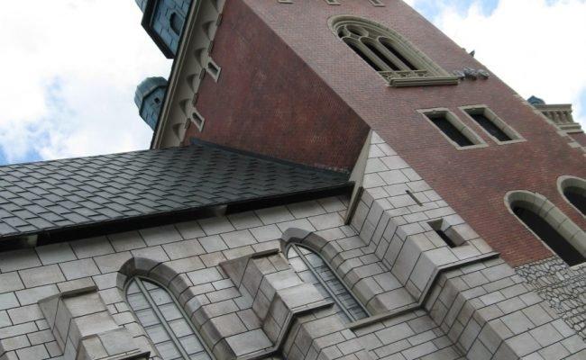 Zamek Królewski na Wawelu przykład makiety architektonicznej