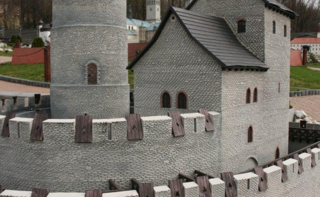Zamek Będzin makieta