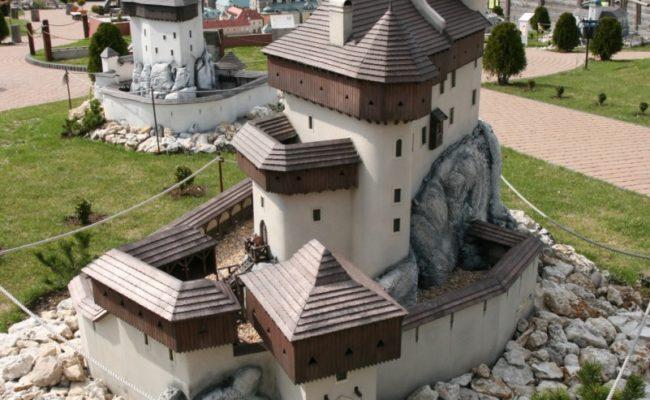 Zamek Bobolice makieta