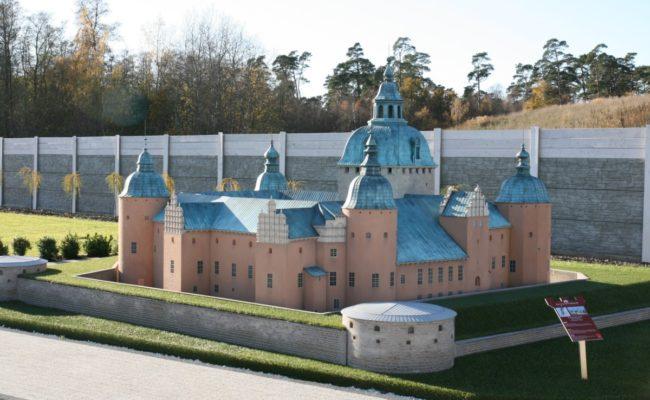 Zamek Kalmar makieta