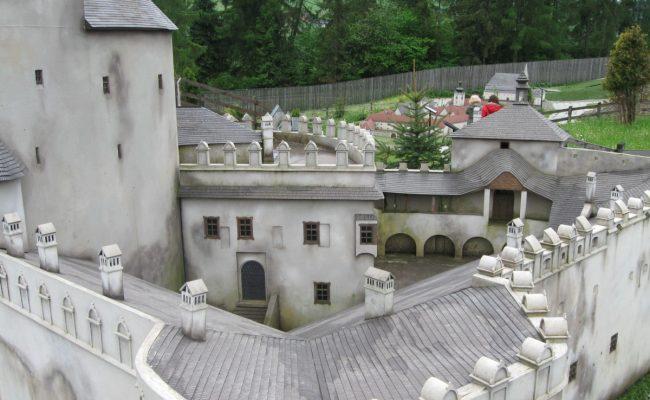 Zamek Niedzica makieta