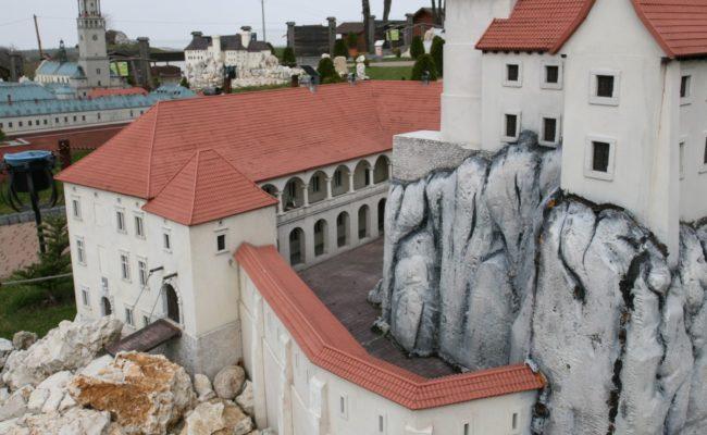 Zamek Rabsztyn w formie makiety architektonicznej