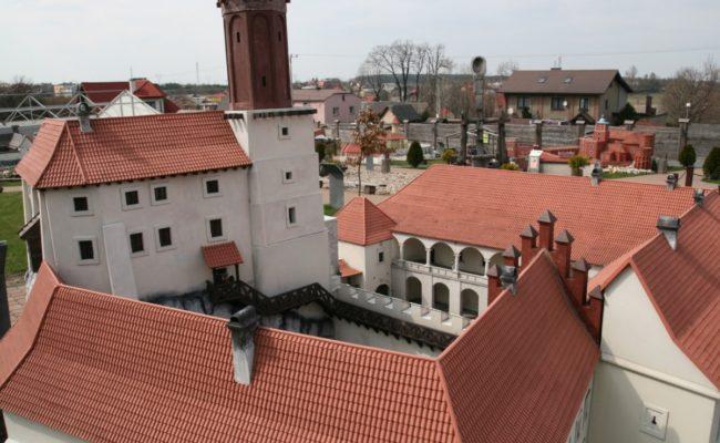Zamek Rabsztyn rekonstrukcja makieta architektoniczna