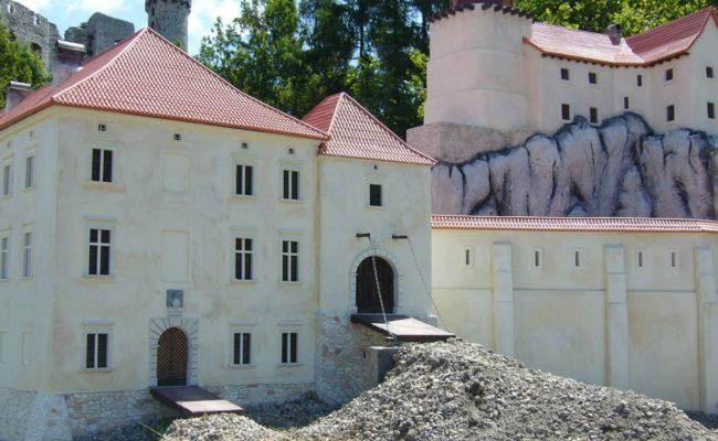 Zamek Rabsztyn makiety architektoniczne