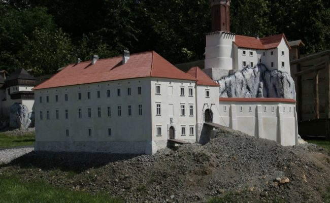 Zamek Rabsztyn makieta