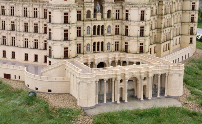 Brama główna miniatury zamku Schwerin