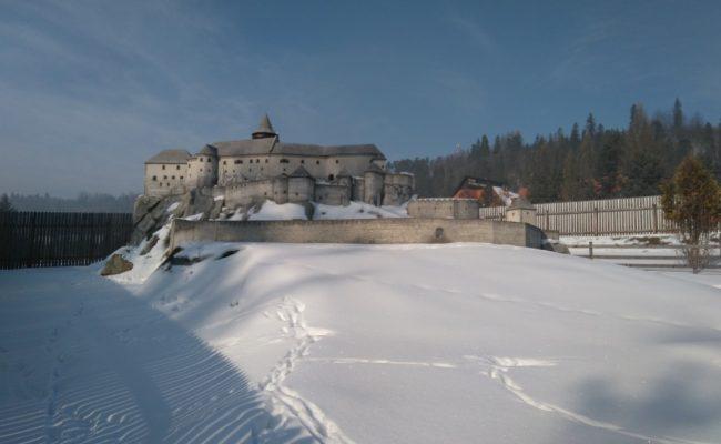 Zamek Spisski makieta architektoniczna do ekspozycji całorocznej
