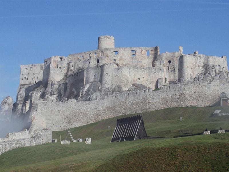 Zamek Spisski ruiny