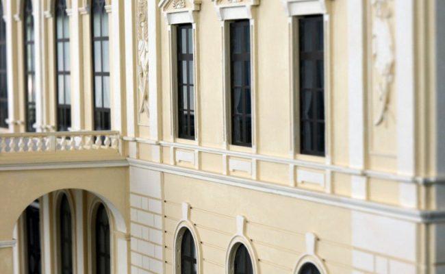 makieta Pałacu w Pilicy